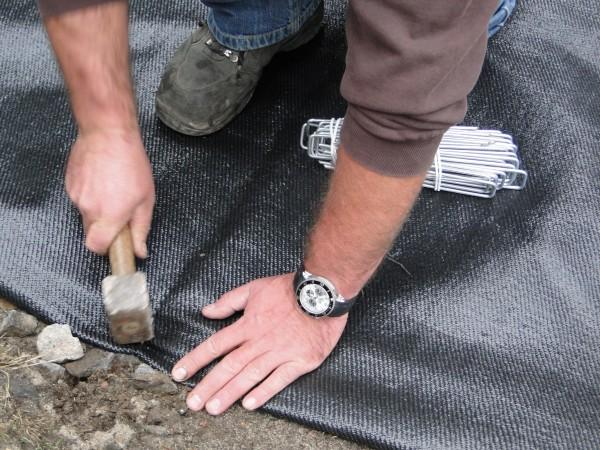Unkrautschutz Gewebe 200 g/m² auf Maß